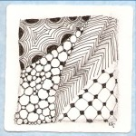 Donna's first Zentangle