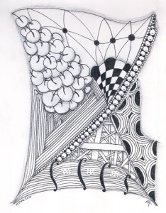 Sketchbook Zentangle