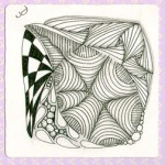 A post Certified Zentangle Teacher training Zentangle!