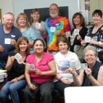 Owl's Clover Zentangle 101 Group Pic, July 24, 2010