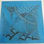 Zentangle Inspired Loktah Paper