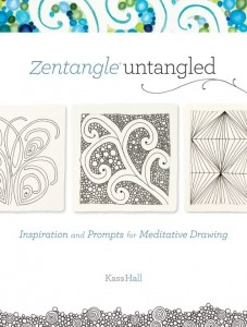 Zentangle untangled by Kass Hall